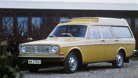 Slik så Volvo 145 Express ut - noe helt for seg selv med det høye taket.