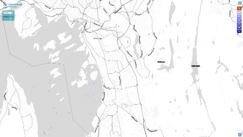 DIREKTE LYNNEDSLAG: På meteorologisk institutt sine hjemmesider kan man følge med på direkte oppdateringer av lynnedslag.