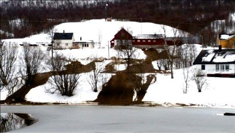 Slik så det ut etter uhellet 25. januar. Foto: Skogstad gård