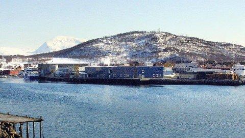 Her holder Nordic Pharma Inc AS til i Kaldfjord. Foto: arkiv