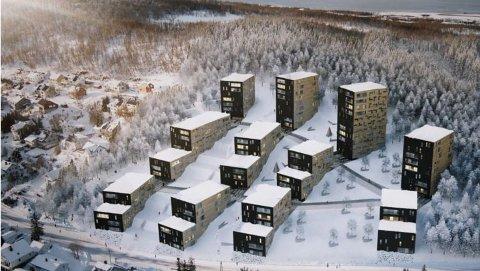 Studentboliger i Tromsø.