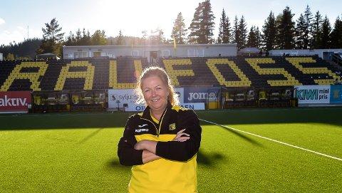 NY LEDER: Trude Helen Øvstetun er valgt til ny styreleder i Raufoss Fotball.