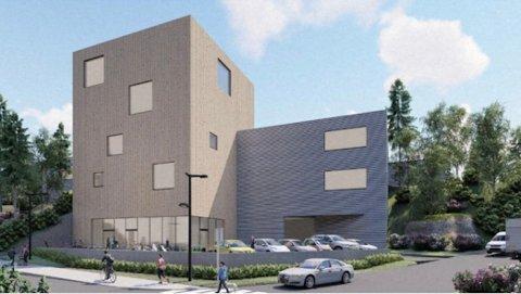 VAREHANDEL: Eierne av Sofiemyrveien 10 foreslår et bygg som kan romme plasskrevende varehandel samt tjenesteyting.