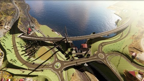 Slik blir det nye trafikksystemet på Farriseidet.