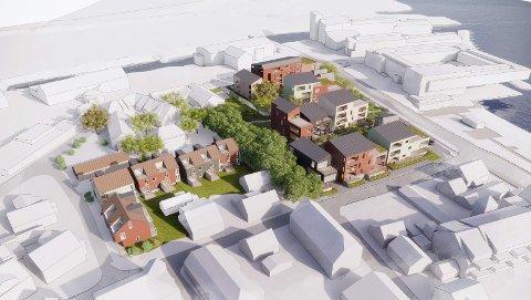 ATTRAKTIVT: Her skal det nye boligområdet på Langestrand ligge.