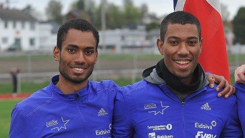 MESTERE; Brødrene Emmanuel Quarcoo og Jonathan Quarcoo ble begge mestere i 2016.