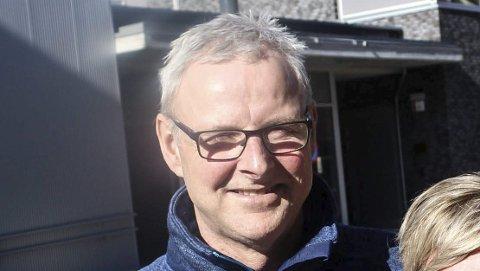 POSITIV: Jørgen Olsvoll er rådgiver i idrettsavdelingen.