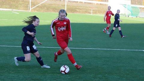 Martine Vassdal-Østvik og Rana FK havnet litt bakpå mot Grand Bodø, men en sterk sluttspurt kunne ha endt med redusering og utligning.