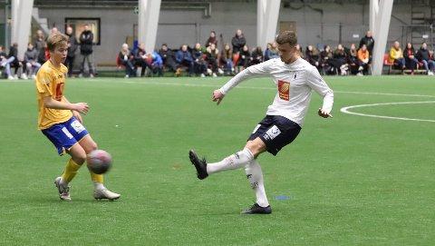 Sindre kom fra Mosjøen IL til Rana FK i vinter, men har kun fått spille i treningskamper.