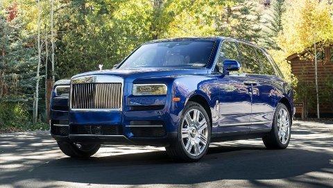 STARTPRIS FEM MILLIONER: Rolls-Royce Cullinan er det mest eksklusive - og dyreste - du kan kjøpe av SUV i verden akkurat nå. I august ble den registrert på norske skilter, for første gang.