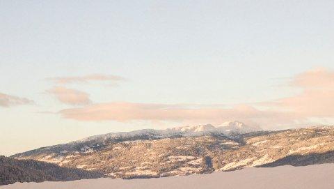 NOREFJELL: Eggedalsfjellet solsiden av Norefjell