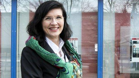 Adminisrerende banksjef Siri Berggren.