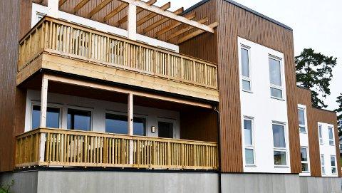 SOLGT: Flere av boligene til BoligPartner i Tandbergåsen i Sande ble omsatt i oktober.