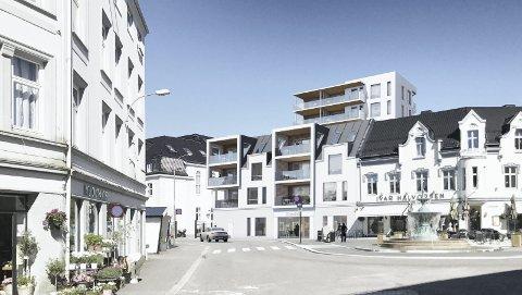 Urbanisering: Det er i byene folk flest vil bo og arbeide, skriver Øystein Bøe. Illustrasjon: Spir Arkitekter