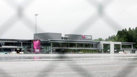 STREIK: Det blir ikke streik ved Torp Sandefjord Lufthavn.