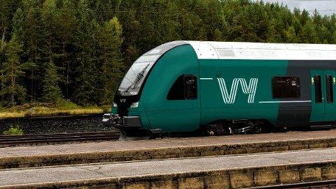 NSB maler om togene etter navneskiftet. Nå blir togene grønne og får Vy-logoen.