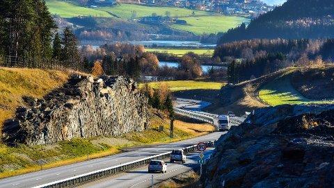 E6 mellom Frya og Sjoa i Gudbrandsdalen er kåret til årets vakreste vei.