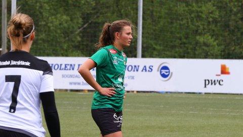 NEDTUR: Kristi Vangsnes og Kaupanger rauk 0-2 i nøkkelkampen mot Grei laurdag ettermiddag.