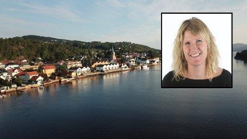 Eirin Bråten Nygård (innfelt) er lokaldemokratikoordinator i Drammen kommune. Hun håper svelvikingene vil være med på å være et bindeledd mellom kommunedelen, politikerne og administrasjonen.