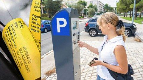 Skal man stå parkert lenge kan en bot være det billigste alternativet. I alle fall en stund til. Illustrasjon: Scanpix/Newspress.
