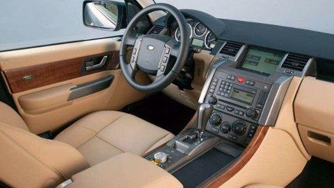 KOMFORT: Range Rover byr på uovertruffen komfort innvendig.