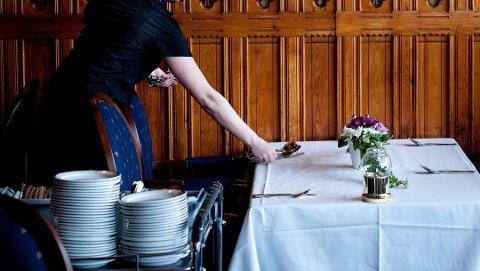De som har fagbrev i restaurantbransjen skal nå få en begynnerlønn på 170 kroner timen. Foto: Håvard Sæbø, Magasinet for fagorganiserte/ANB