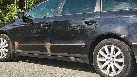 Rustskader er alltid omfattende og dermed dyrt å reparere. Illustrasjonsbilde.