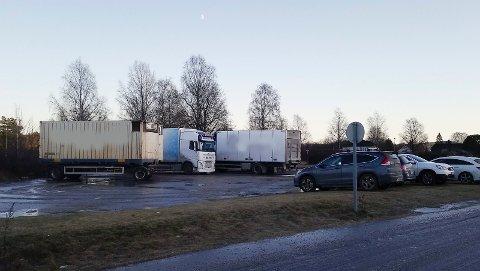 SIRKUSPLASSEN: Dette bildet av sirkusplassen på Gråtenmoen er tatt lørdag 4. januar.