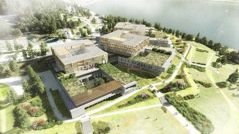 SNR, Sykehuset for Nordmøre og Romsdal, har fleksibelt areal for storkjøkken.