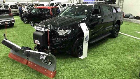 Ford Ranger er en tøff liten brøytebil som kan kjøres med vanlig personbilførerkort.