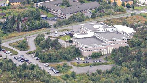 Okeas bygg på Råket i Kristiansund.