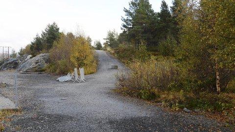 Tomta: På oversiden av kunstgressbanen på Bruhagen ønsker AK å bygge fotballhall.