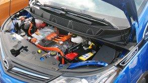 EL-BIL: Slik ser det ut under panseret på nye Opel Ampera-e.