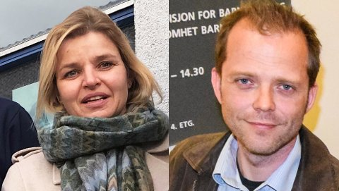 VIKTIG ØNSKELISTE: Lise Holm er fylkesleder i Fellesorganisasjonen (FO)  Vestfold. Vidar Byholt er fylkessekretær i samme organisasjon.