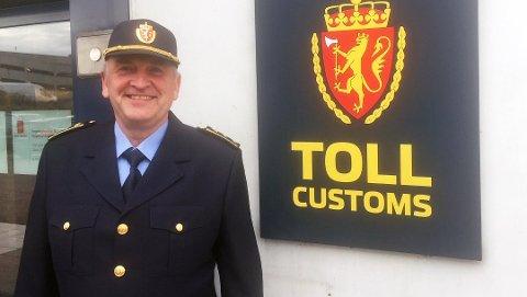 SJEF: Sven-Øystein Ferstad er seksjonssjef ved Sandefjord tollsted.