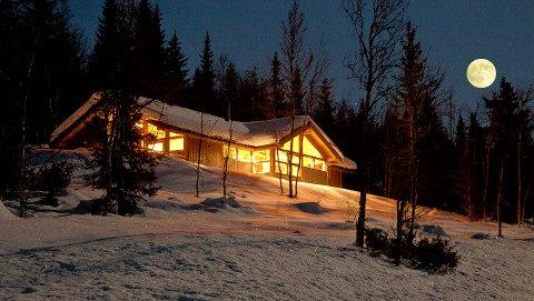 Mange nye hytter: I løpet av dei to siste tiåra har det kome til 4.430 hytter i Valdres.