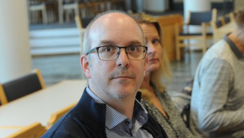 ØNSKERSAMLING:Markus Tønseth ønsker at alle rakettene ved nyttårsskiftet blir konsentrert i tid og rom.