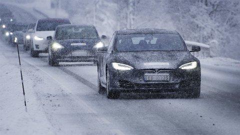 Norsk vinter setter elbilene skikkelig på prøve.