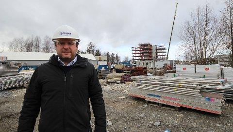 Administrerende direktør Reinert Hersleth forteller at tiltak på byggeplassene har vært viktige for å få hjulene til å gå rundt i 2020.
