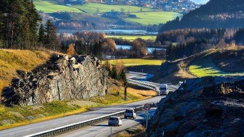 FIN STREKNING: E6 mellom Frya og Sjoa i Gudbrandsdalen er kåret til årets vakreste vei.