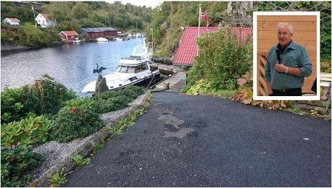 Området på Valdersnes inneheld parkering, kai, småbåtanlegg og naust, men er eigentleg meint for landbruk. Det vil grunneigar Olva Ståløy endre på.