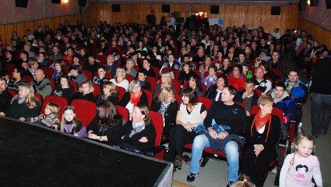Kinosalen: Fauske kino, som er en del av Fauske rådhus, har godt over 200 sitteplasser. Foto: Dag Pettersen