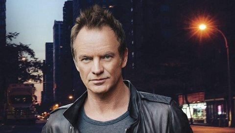 Tidenes konsert: Sting kommer til Bodø i juni neste år. Han vil trolig samle 10.000 mennesker i Nordlandshallen.