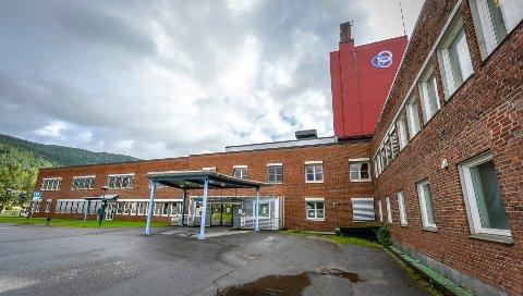 Helgelandssykehuset Rana sykehus.