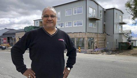 Kuldeep Singh (69) hadde et meget sterkt år med Spar Hamarøy.