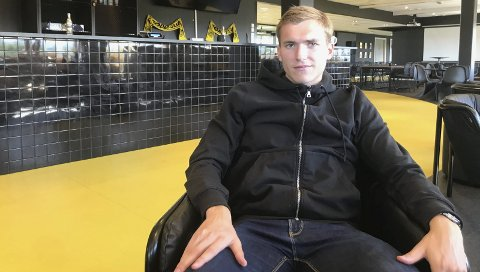 Storspill: Morten Konradsen storspilte mot Odd søndag. Nå jakter han og lagkameratene nye poeng mot Vålerenga i kveld.Foto: Kristoffer W. Pettersen.