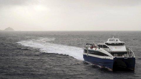«Elsa Laula Renberg» er en av hurtigbåtene som patruljerer i Nordland.