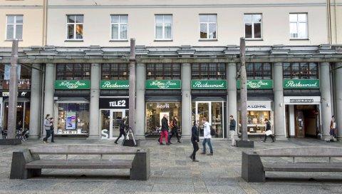 Holbergstuen ligger i andre etasje på kjøpesenteret Galleriet. Restauranten åpnet i 1927. Ved nyttår er det slutt, noe stamkundene sørger over.
