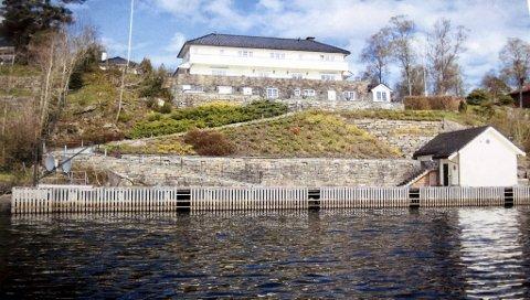 Bergens hittil dyreste bolig ble solgt for 41,5 millioner kroner. Kyrkjetangen 16 ligger storslått til ved Nordåsvannet.
