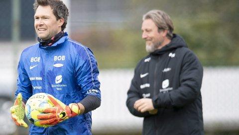 Håkon Opdal ble oppdratt til toppkeeper av Dan                      Riisnes, og de to jobber fortsatt tett sammen.